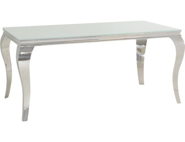 Luxury white dining table