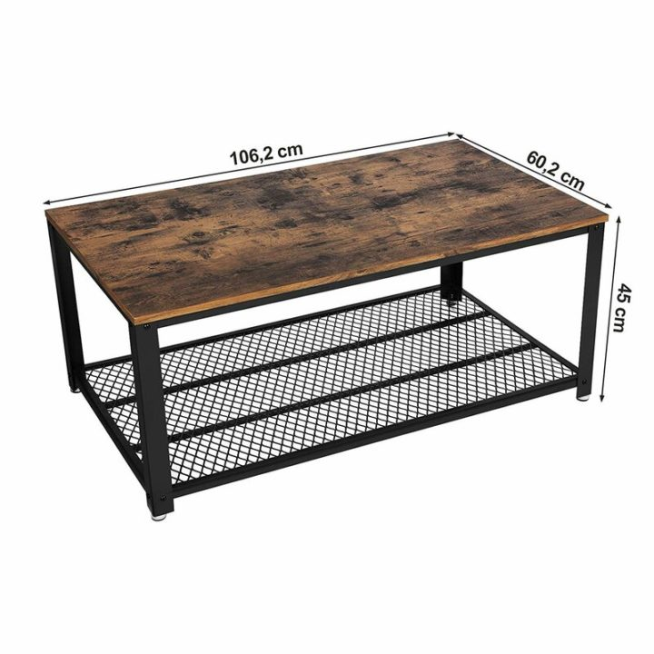 Great brown coffee table