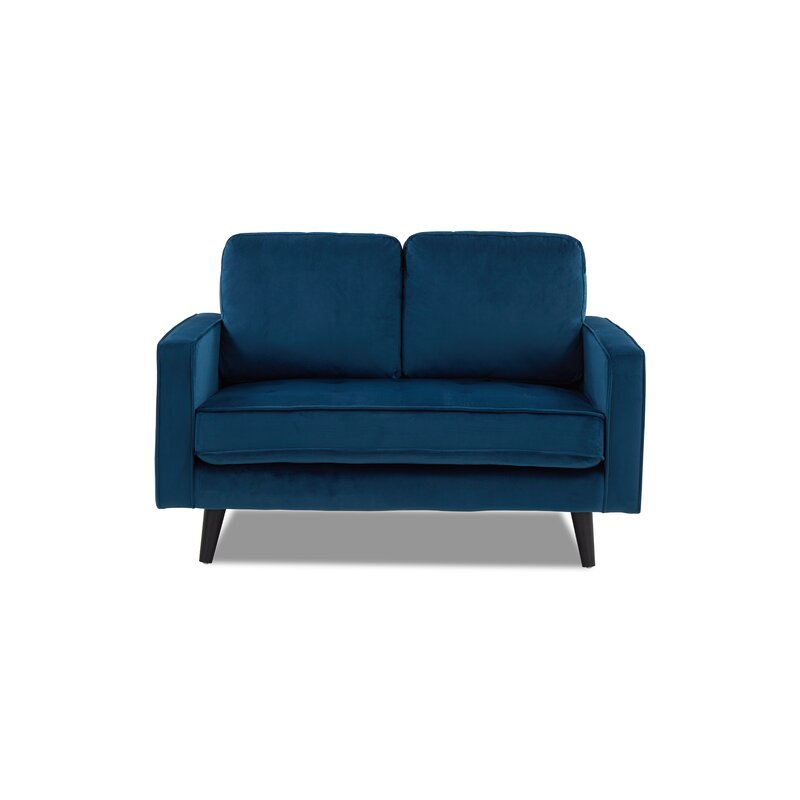 Pure blue 2 seater sofa