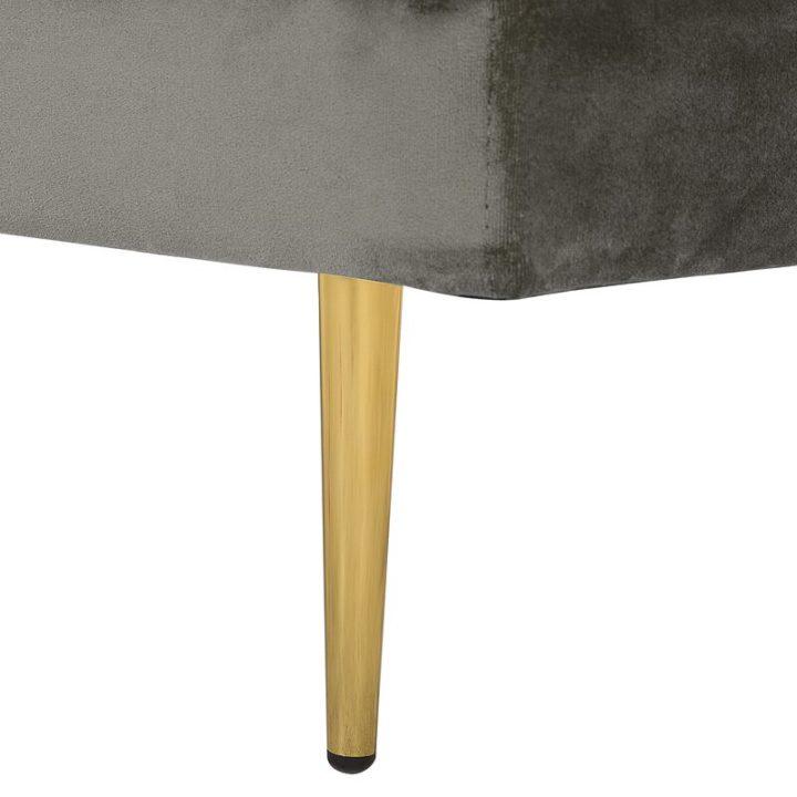 Cosy grey armchair