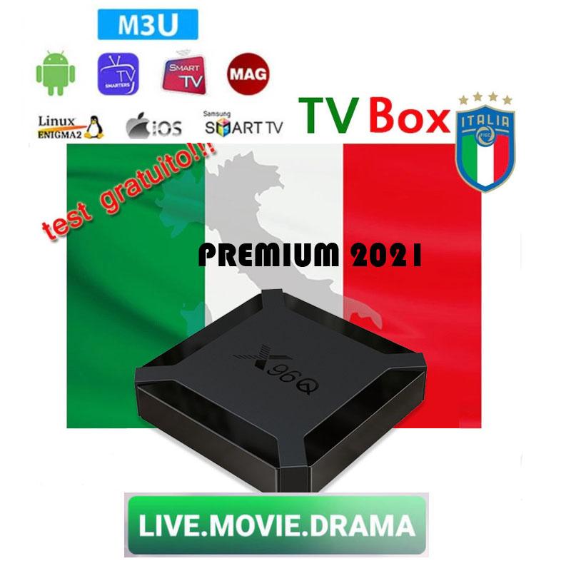 1 year Italy IPTV + Android TV BOX