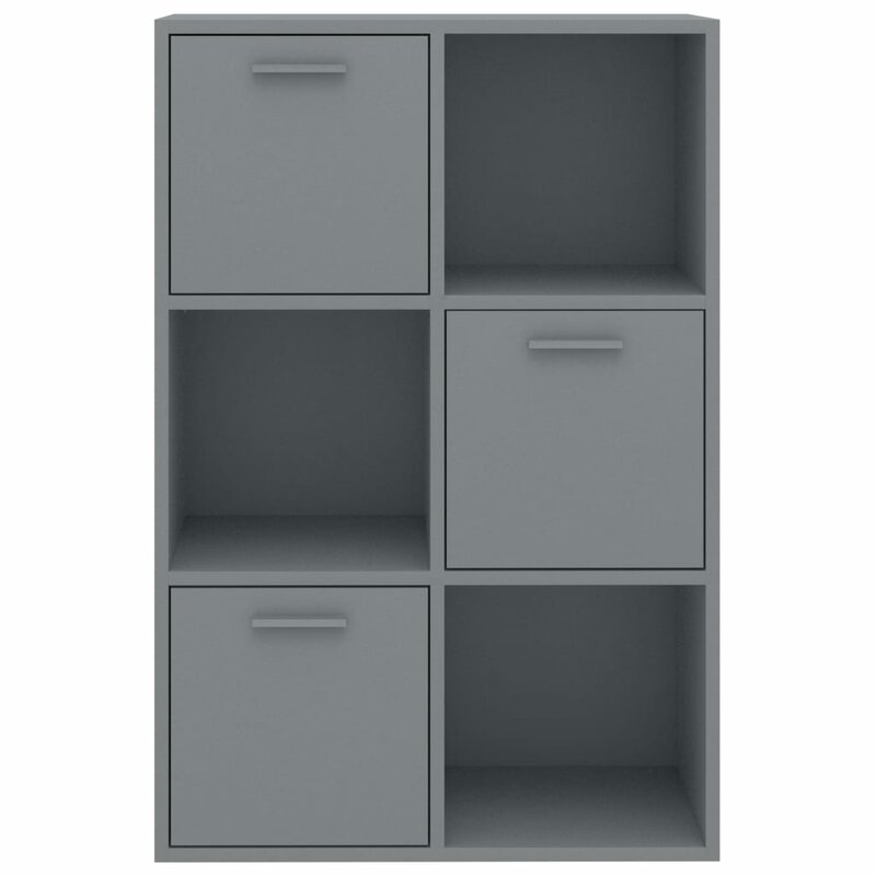 Deep grey storage unit