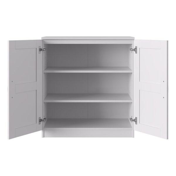 Unique brown storage unit