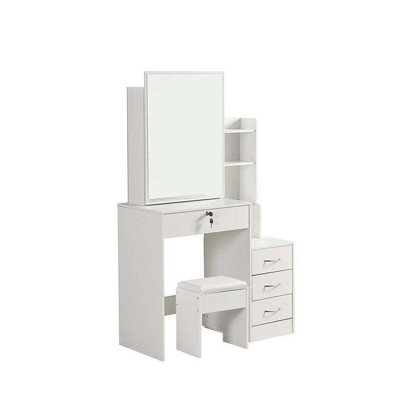 Smart white dressing table