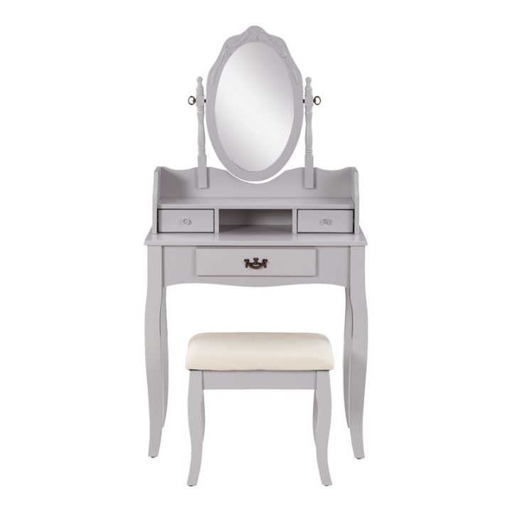 Sophisticated light brown dressing table