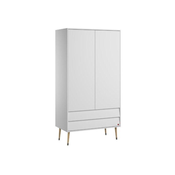 Perfect light brown 4 door 2 drawer wardrobe