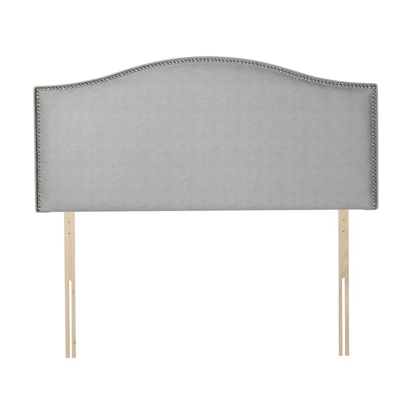 Lush grey headboard