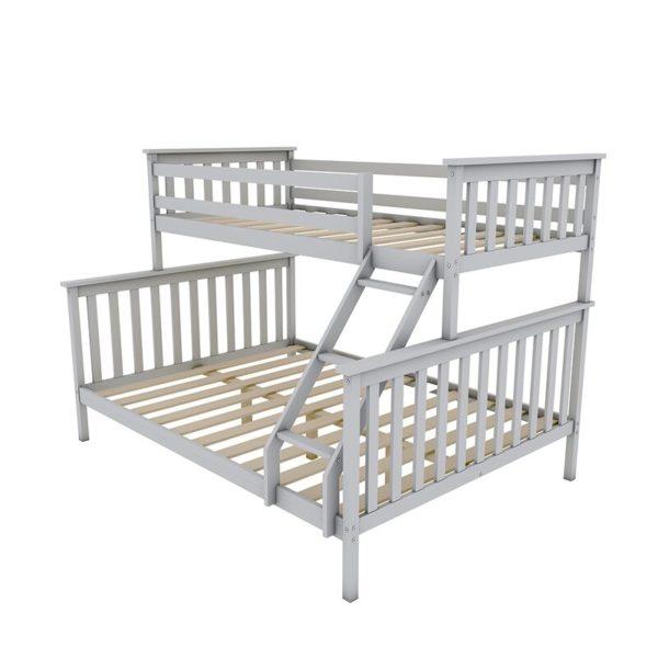 Great white storage bed