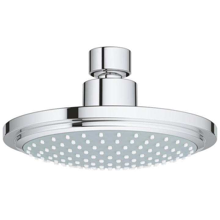 Plush round shower head