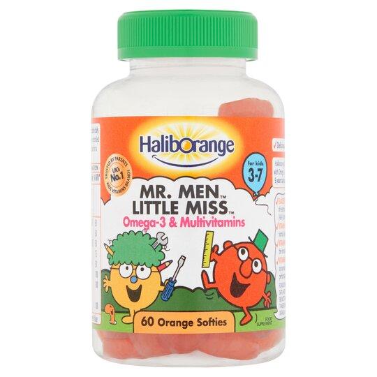 60 Haliborange Omega3 & Multi Vitamins Orange Gummies