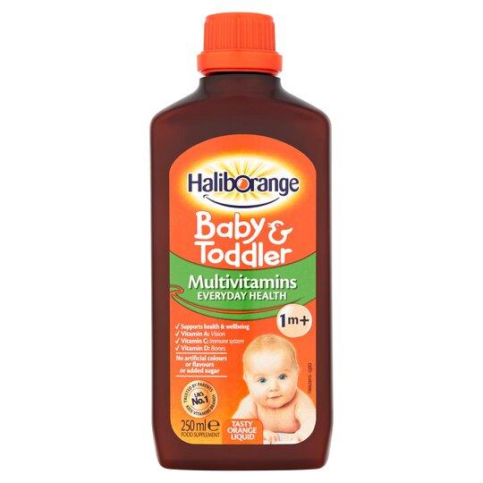 250ml Haliborange Multi Vitamins Orange Liquid