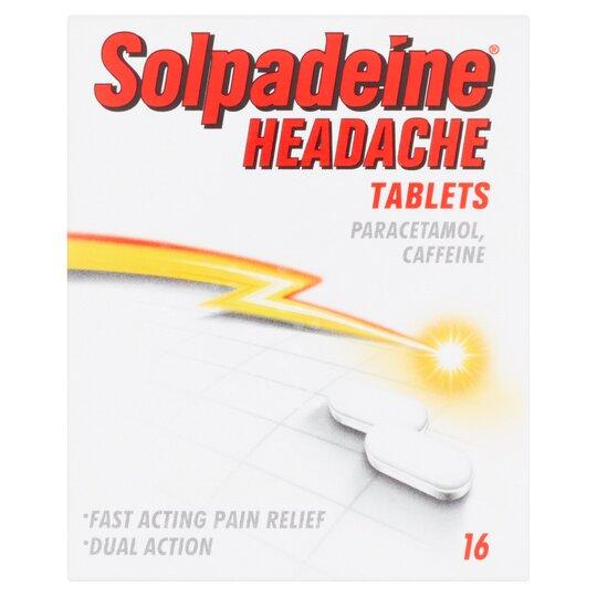 16 Solpadeine Headache Tablets