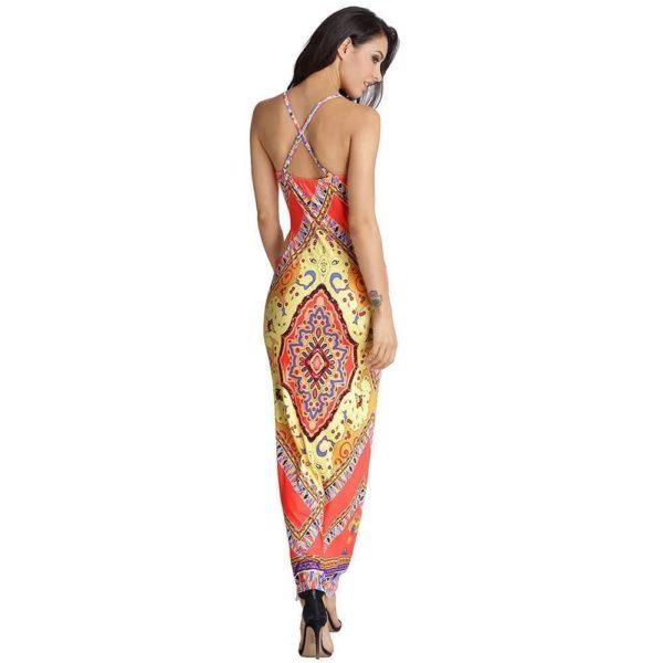Sexy urban patterned dress
