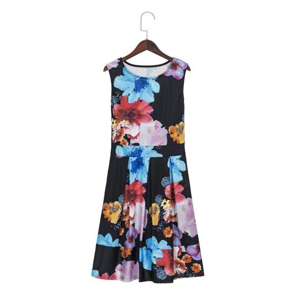 Full floral dress