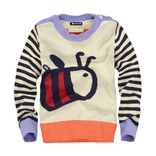 Quirky bug printed jumper