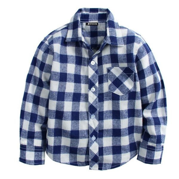 Superb chequered long sleeved shirt