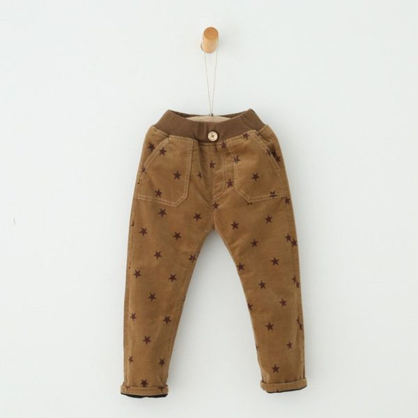 Cute star patterned trousers