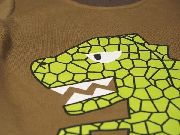 Dinosaur themed pyjamas set