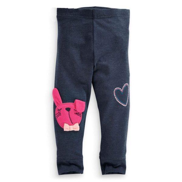 Heart & bunny print leggings