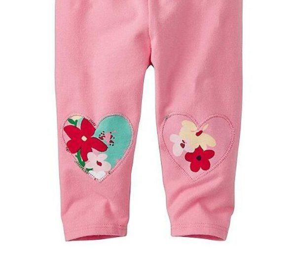 Butterfly patterned leggings