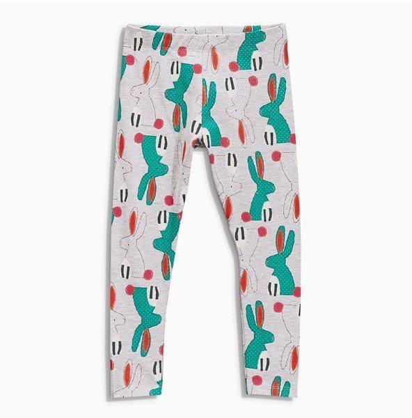 Quirky rabbit print leggings