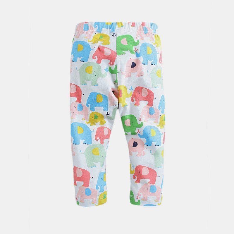 Elephant patterned leggings