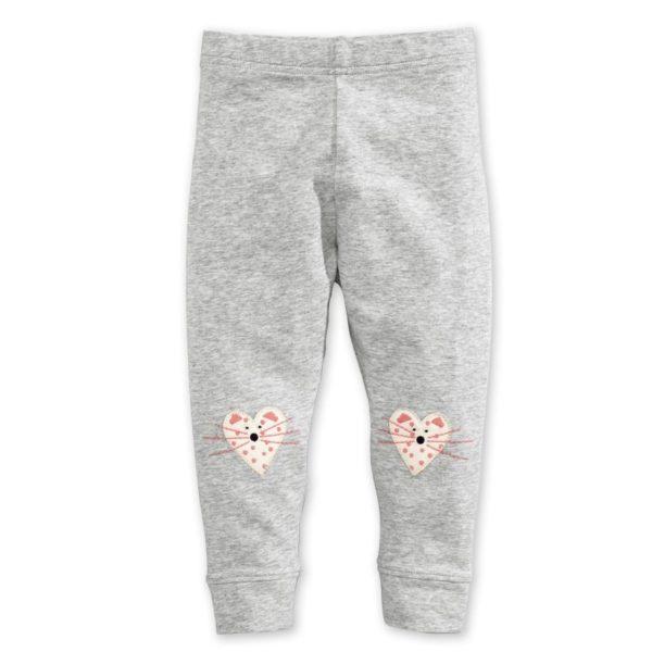 Mouse heart print leggings