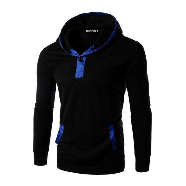 Trendy pocket shirt hoodie