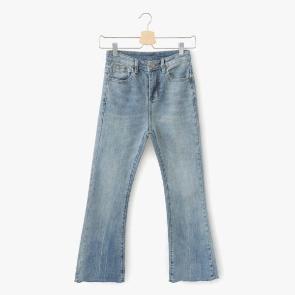 Lush blue denim jeans