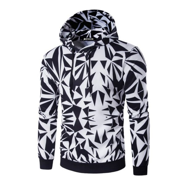 My favourite vibrant patterned drawstring hoodie