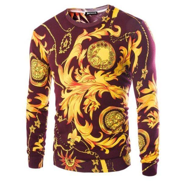Make a statement patterned sweater