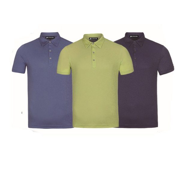 Smart coloured polo golf shirt