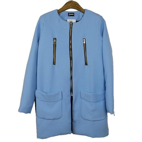 Spring blue coat