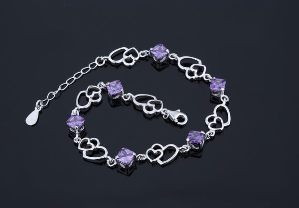 Beautiful silver bracelet