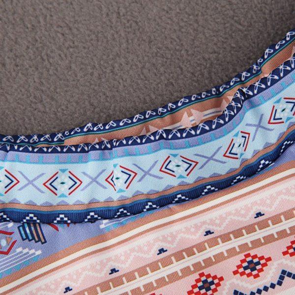 Cute patterned mini skirt