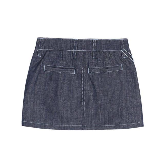 Cute denim mini skirt