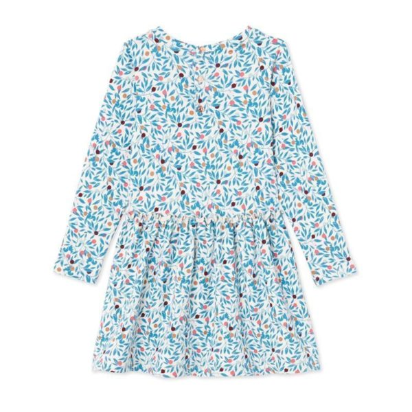 Pretty floral long sleeved dress