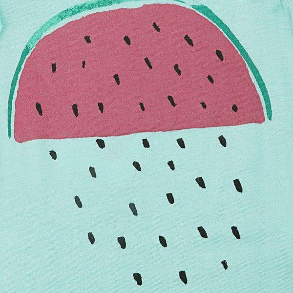 Water melon print vest top