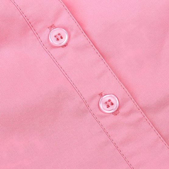Sweet pink sleeveless blouse