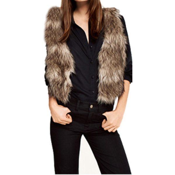 Sassy faux fur jacket