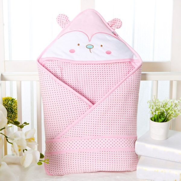 Cutie pink quilted blanket