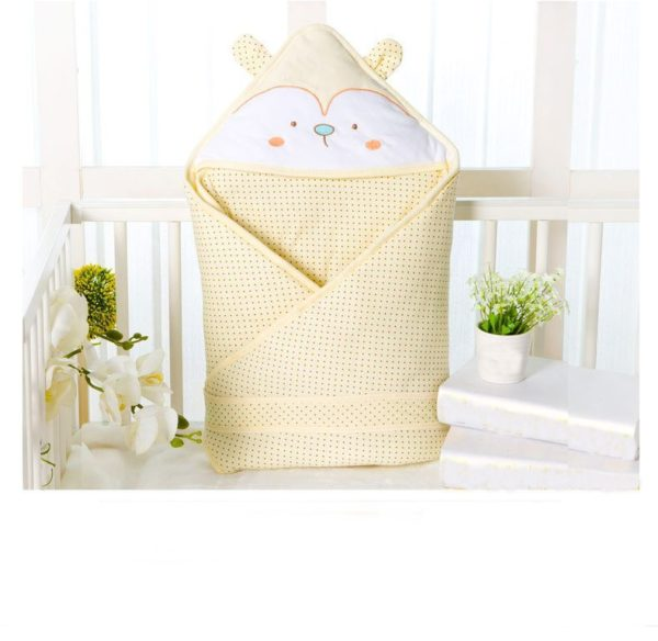 Yellow cutie quilted blanket