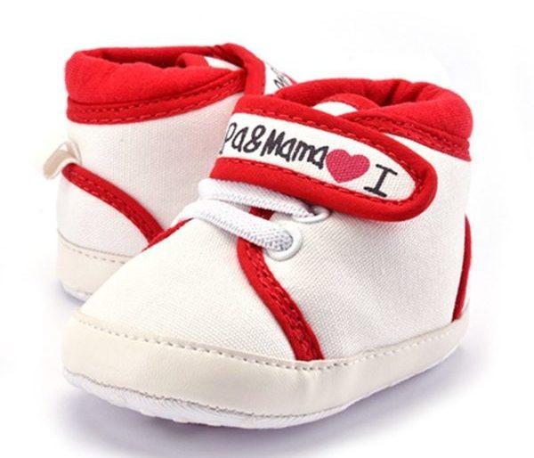 'I love Mama & Papa' sneakers