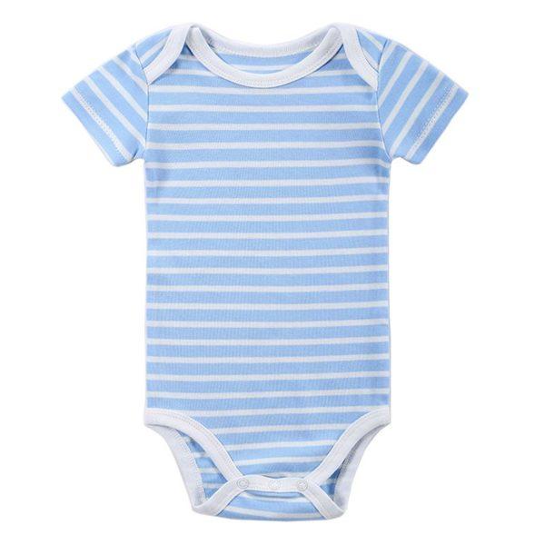 Fresh striped babygrow
