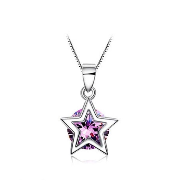 Star of wonder silver necklace