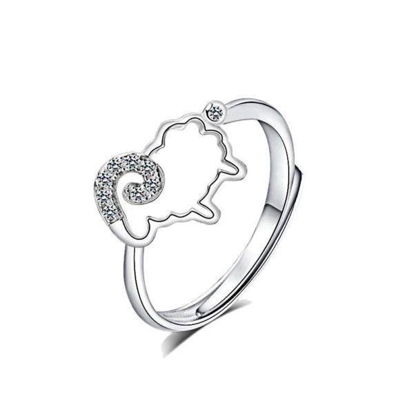 Cute animal cut ring