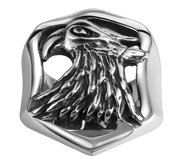 Eagle two tone ring