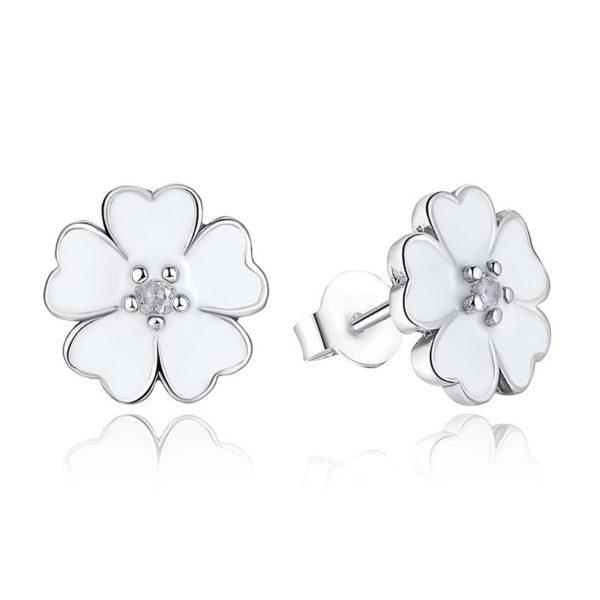 Serene flower earrings