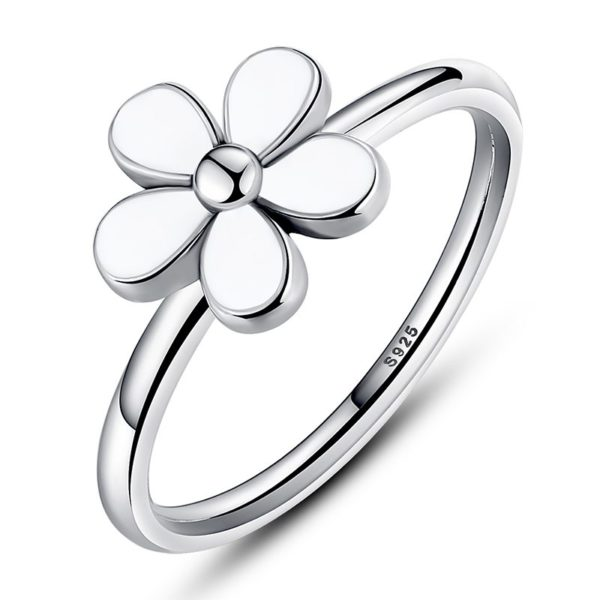 Flower of tranquility ring