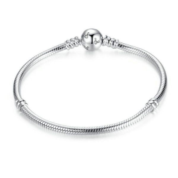 Classy silver bracelet